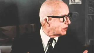 Buckminster Fuller at the School of Architecture, University of Detroit
