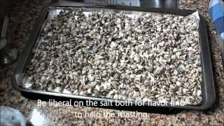 roasted sunflower seed recipe home grown