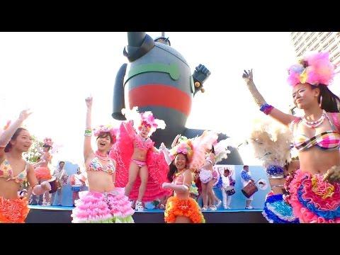 神戸サンバチーム/ 第46回神戸まつり2016・長田フェスティバル[全編]センターカメラ 鉄人広場