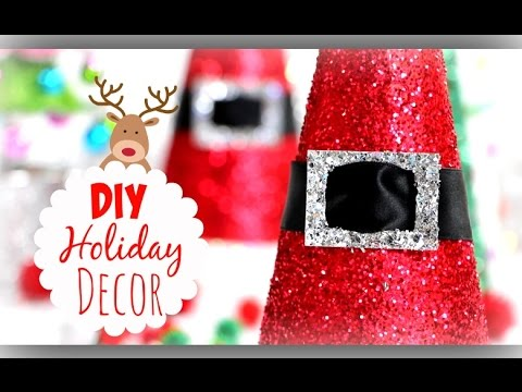 DIY Christmas Decorations ❄ Cute Holiday Room Decor - YouTube