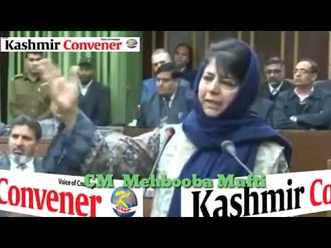 Dialogue with Pakistan necessary to end bloodshed in Jammu and Kashmir: CM Mehbooba Mufti