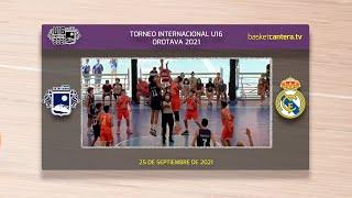 U16M - CB SAN ISIDRO vs REAL MADRID.- Torneo Internacional Cadete Villa de La Orotava 2021