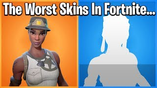 TOP 10 WORST SKINS IN FORTNITE (trigger warning)