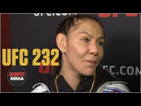 Cris Cyborg: 'My heart broke a little' after loss to Amanda Nunes   UFC 232   ESPN MMA