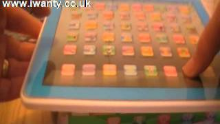 y-pad simple demo ypad same size an ipad Learning Machine Tablet Toy English Computer Kids