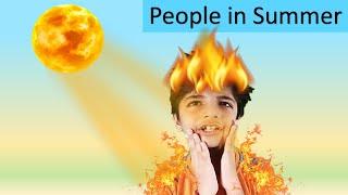 Garmi I Boys in Summer I People in summer