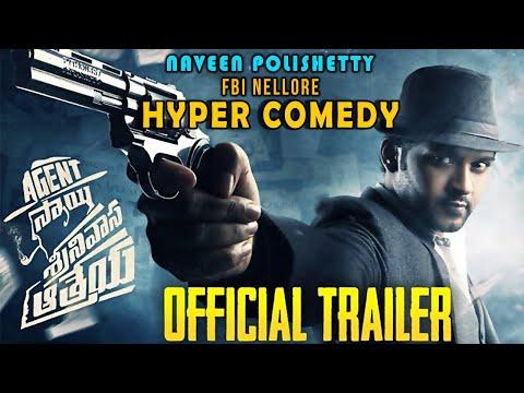 Agent Sai Srinivas Athreya Telugu Movie Trailer | Naveen Polishetty | Shruthi Sharma | Swaroop RSJ