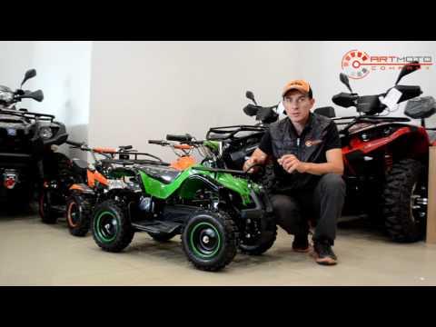 Обзор и тест-драйв электроквадроцикл Sport Energy Hunter 800W