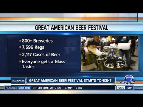 How Much Beer Will Be At The Great American Beer Festival?