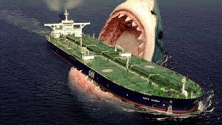 Największy Rekin Świata - MEGALODON - 2014 [ HD ]