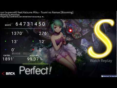 [ Osu! ] Project DIVA X (ryo (supercell) Feat. Hatsune Miku - Tsumi No Namae [ ZanKrosS ]