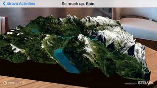 Strava in Augmented Reality!
