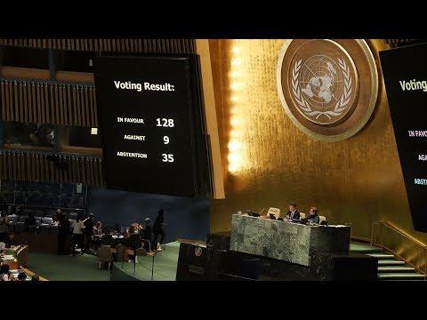 UN Defies Trump Threats on Jerusalem Vote