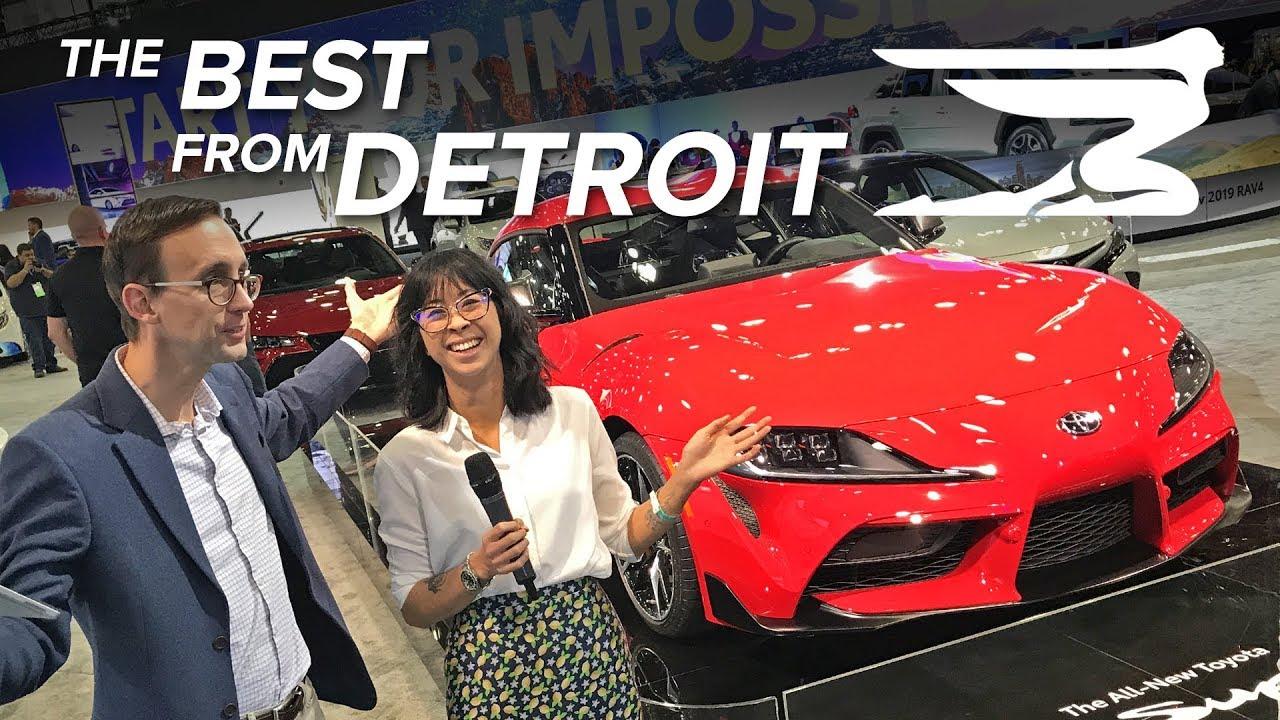 Best of the 2019 Detroit auto show so far