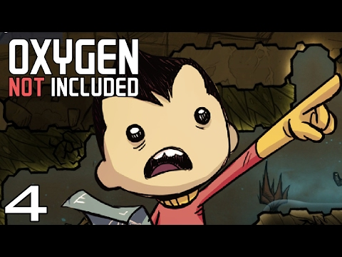 Oxygen Not Included  | Part 4 - Pardon Our Mess! [Oxygen Not Included Gameplay Alpha]