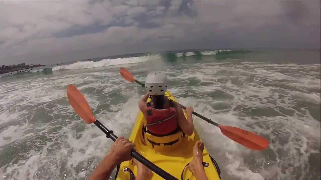 Kayaking In La Jolla Cove San Diego