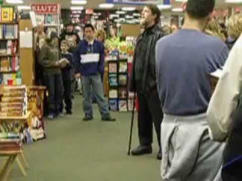 Robert Jordan at Toadstool Bookstore