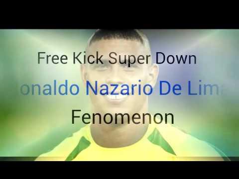 Amazing Free Kick Super Shot Ronaldo Brazil