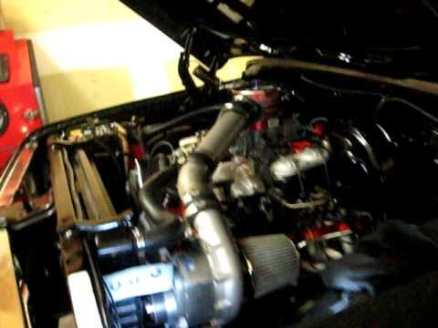 Chevy Big Block 402 Procharger - YouTube