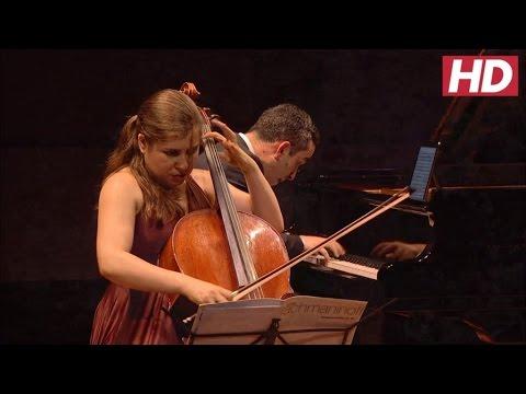 Weilerstein and Barnatan - Rachmaninov - Sonata for Cello and Piano in G Minor