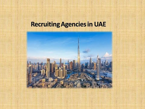 Recruitment Agencies in uae and Gulf