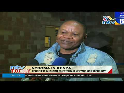 Congolese musician Nyboma Mwandindo to entertain Kenyans on Labour Day