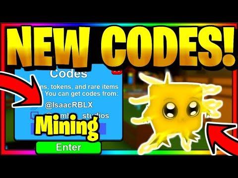 ALL *NEW* SECRET OP WORKING CODES! Roblox Mining Simulator (October 2019)