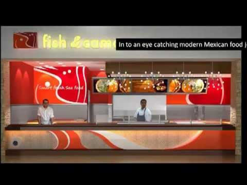 restaurant design   modern fast seafood restaurant   youtube