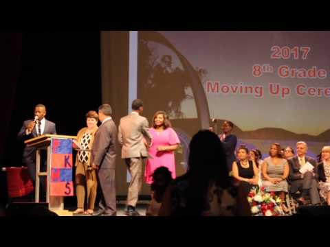 Peekskill Middle School, 8th Grade Moving Up Ceremony, 22 June 2017, 5 of 8