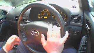 TOYOTA AVENSIS 2.0 2008 Diesel Review/Road Test/Test Drive