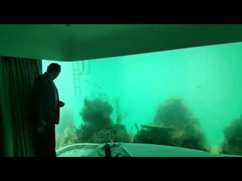 World S First Underwater House In Dubai