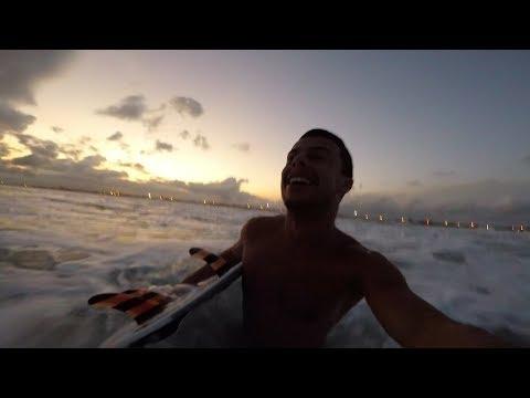 PERIGOS AO SURFAR SEM LEASH/CORDINHA