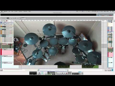 SongWriting In Reason Part:13 Record Electric Drums with ALT 2 Drum Refill