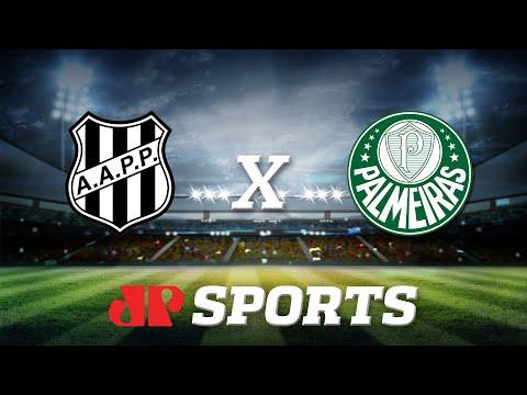 AO VIVO - Ponte Preta x Palmeiras - 08/02/20 - Campeonato Paulista - Futebol JP