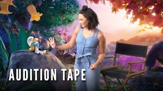 SMURFS: THE LOST VILLAGE – Demi Lovato's Lost Audition Tape