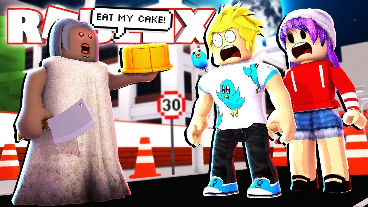 Granny Makes Us Eat Her Cake In Roblox Ahhhh Youtube