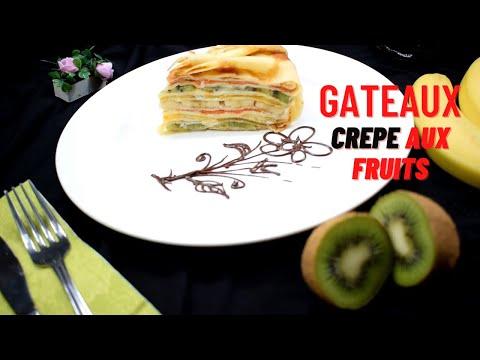 gâteau-crêpe-aux-fruits---français
