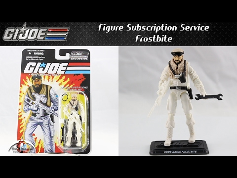 GI Joe FSS Frostbite Unboxing and Review