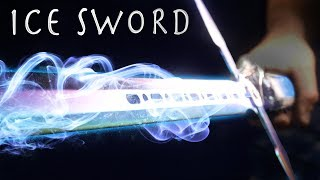 How To Make an ICE SWORD! - Cheap Simple Build (❄️ Super Cool Result!!! ❄️) Video