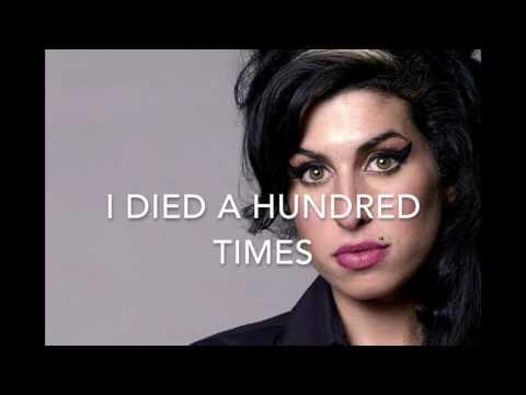 Back to black - Amy Winehouse - Karaoke female version lower (-2)