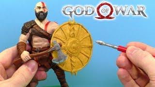 ЛЕПИМ КРАТОСА из игры GOD of WAR 4 | Видео Лепка