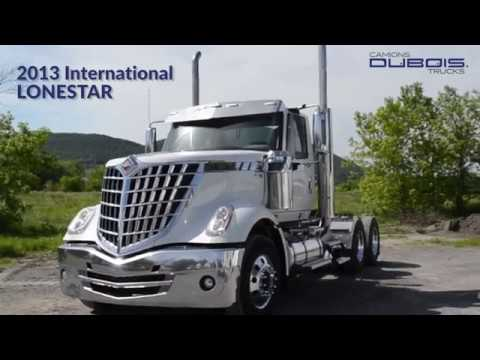2013 International Lonestar TRUCK FOR SALE - CAMION à VENDRE