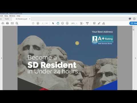 South Dakota Residency - Step by Step