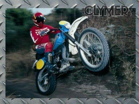 Clymer Manuals Yamaha Dirt Bike Motocross Dual Sport Motorcycle Repair Shop Service Manual Video