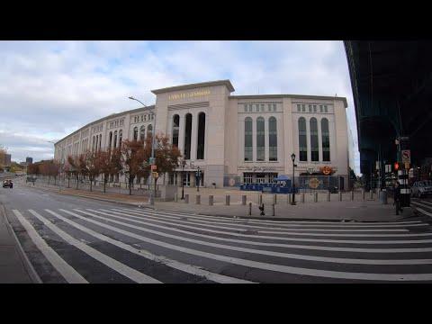 "⁴ᴷ⁶⁰ Walking NYC (Narrated) : Yankee Stadium to ""Joker"" Stairs & The High Bridge (October 28, 2019)"