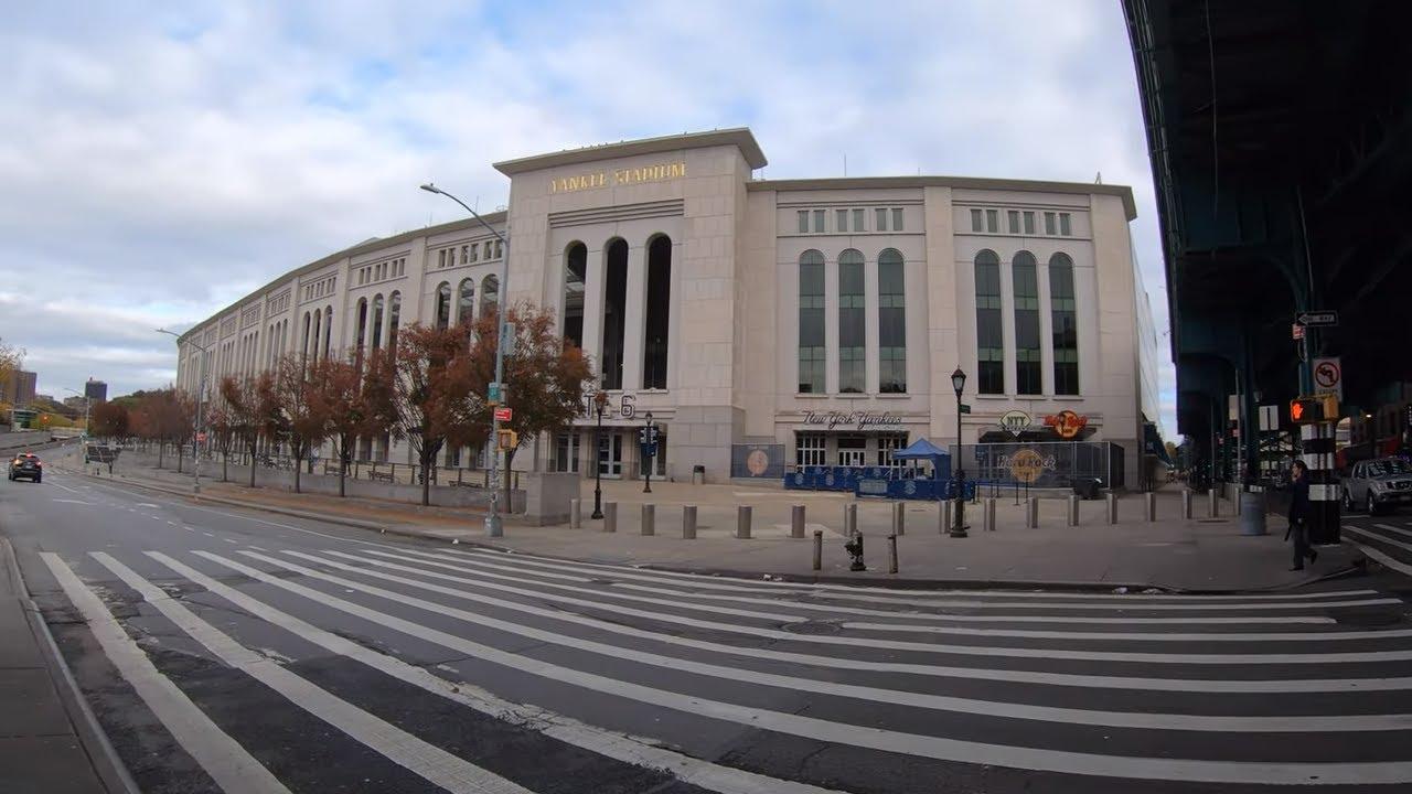 ᴷ Walking Nyc Narrated Yankee Stadium To Joker Stairs The High Bridge October 28 2019