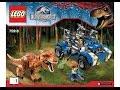 LEGO 75918 T Rex Tracker Instructions LEGO JURASSIC WORLD 2015