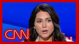 Tulsi Gabbard rips Kamala Harris' record on criminal prosecutions During CNN's Democratic presidential debate., From YouTubeVideos