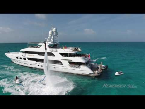 Charter Yacht Remember When cruising the Exumas Bahamas with Churchill Yacht Partners