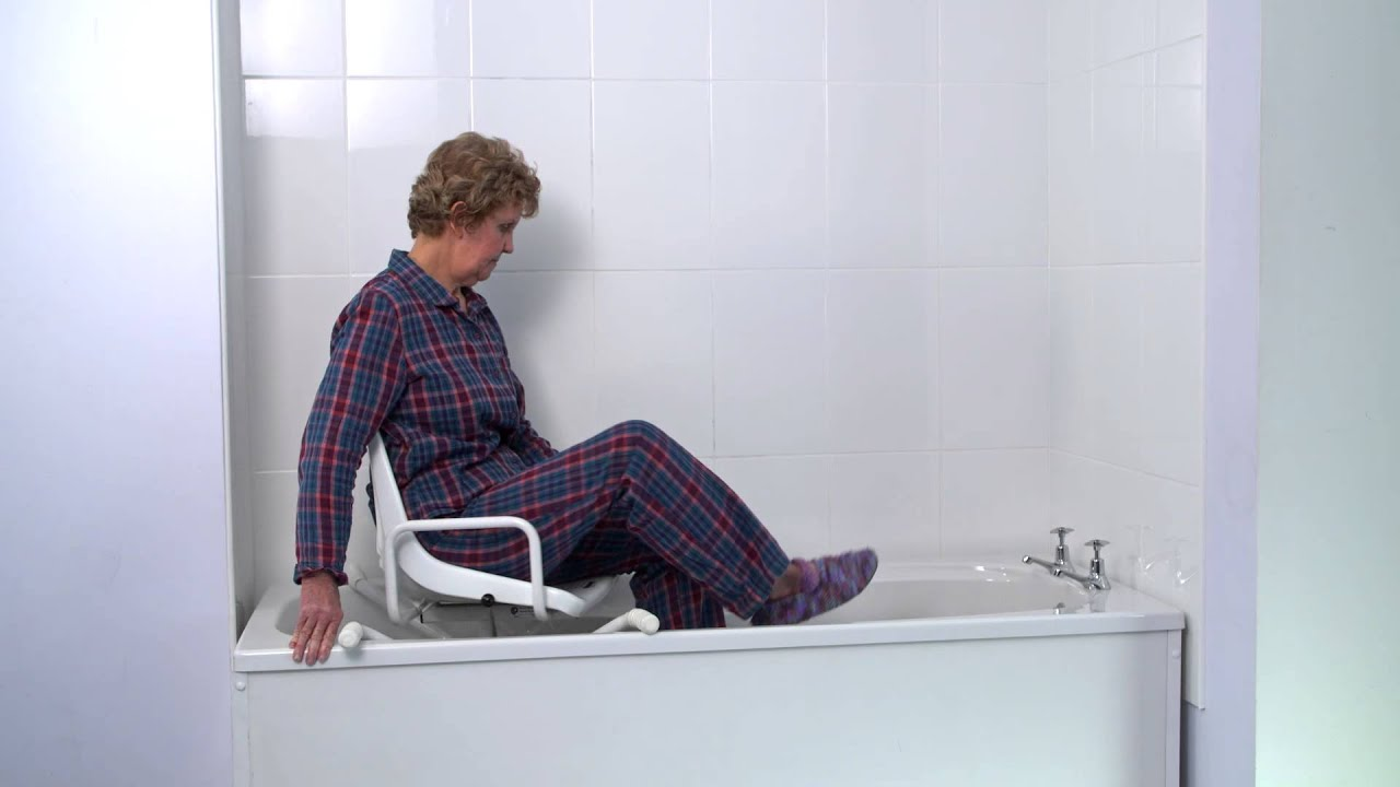 Swivel Bath Seat - YouTube
